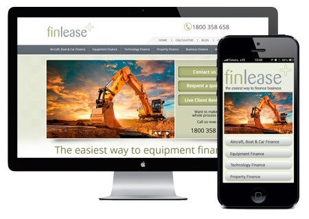 finlease-mobile-website