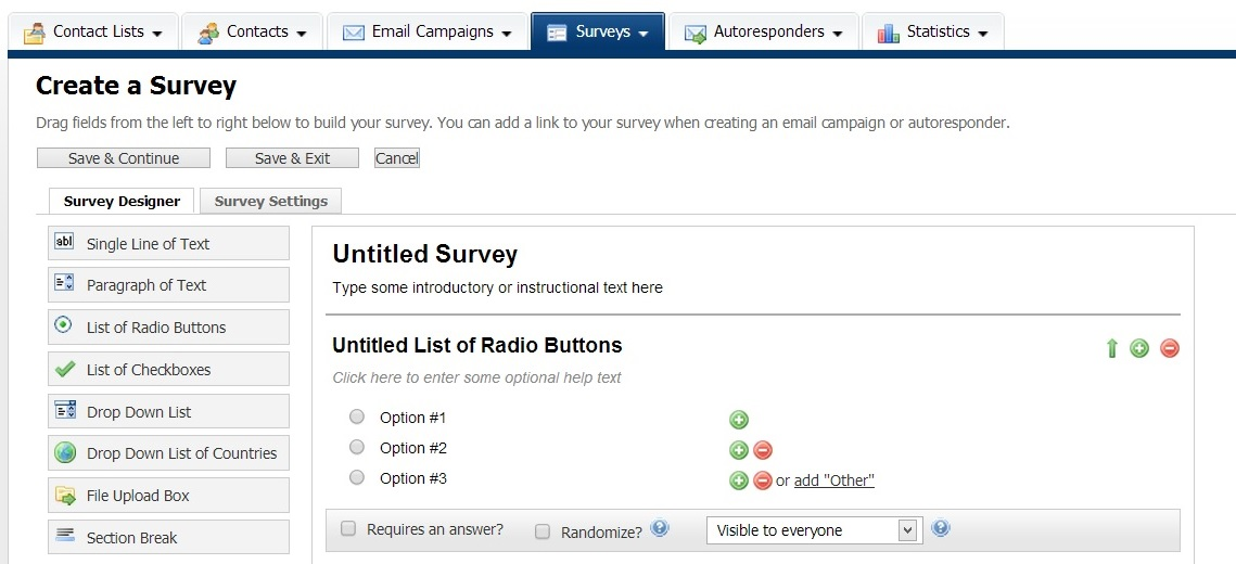 create-survey