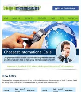 Cheapest International Call